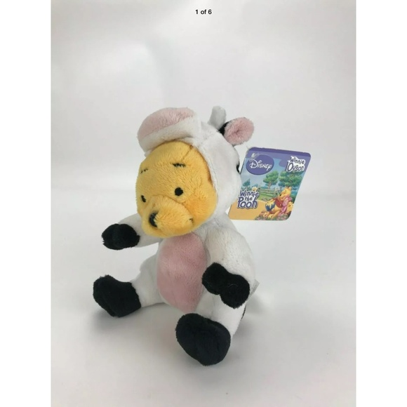 Disney Winnie The Pooh Plush in Cow costume